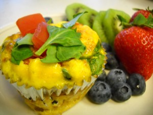 paleo breakfast mini quiche
